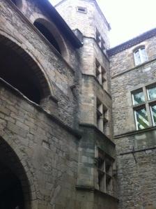 Intérieur du château d'Aubenas