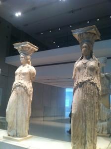 Athènes les caryatides