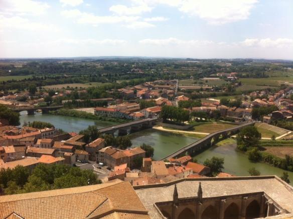 Vue depuis le clocher de la Cathédrale