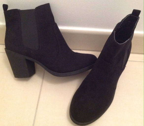 Boots H&M 29,99€, imitation nubuck