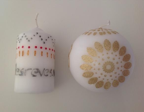 id créatives décoration de bougie