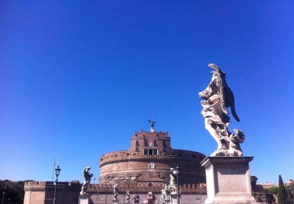 rome château st ange