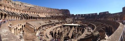 rome intérieur du colisée