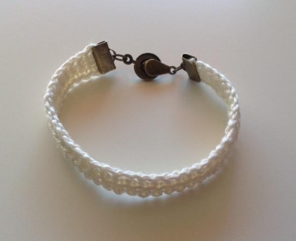 bracelet coton écru