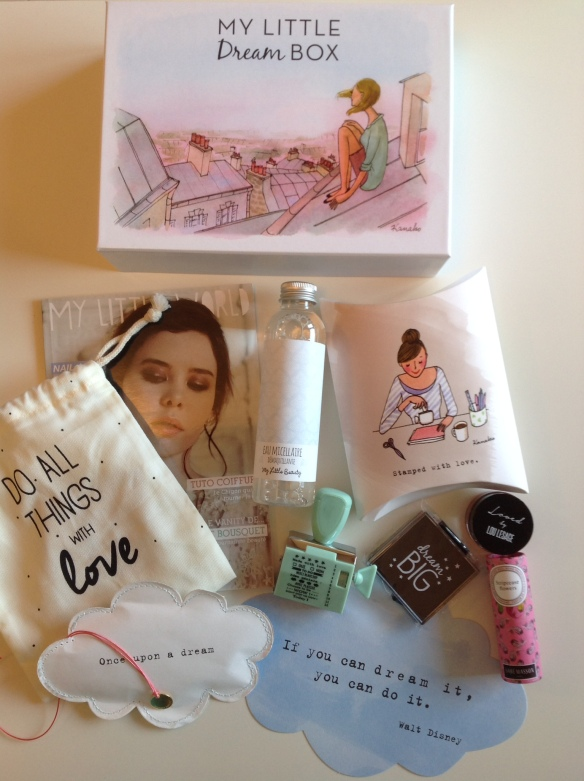 my little dream box avril 2015
