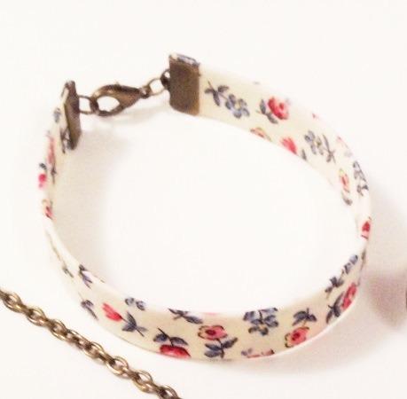 bracelet liberty petite roses
