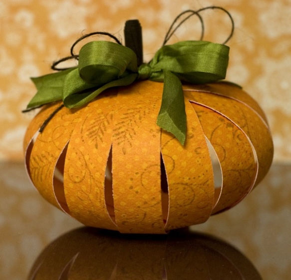 halloween citrouille en papier