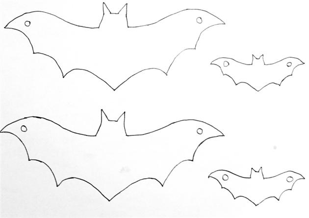 D coration d halloween diy le temps des r ves - Guirlandes en papier a faire soi meme ...