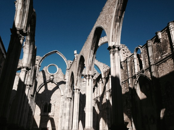 Lisbonne convento do Carmo