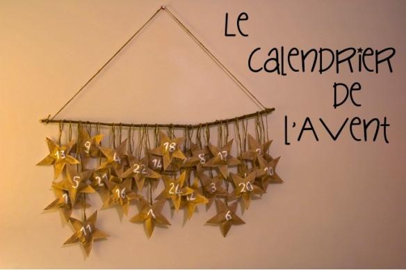 calendrier de l'avent étoiles